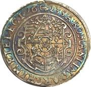 ¼ Thaler - Johann Georg I – reverse