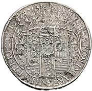 2 Thaler - Johann Georg I. – reverse