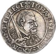 1 Groschen - Johann Georg I. (Death) – obverse