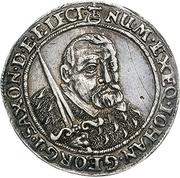 ⅛ Thaler - Johann Georg I. (Death) – obverse