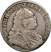 ⅓ Thaler - Friedrich August II. – obverse