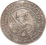 ½ Thaler - Johann Georg I. (Death) – obverse