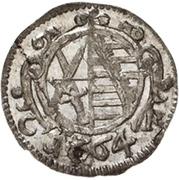 1 Pfennig - Johann Georg II. – obverse