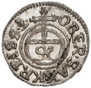 1 Pfennig - Johann Georg II. – reverse