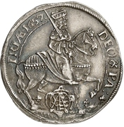 ⅛ Thaler - Johann Georg II. (Vicariat) – obverse