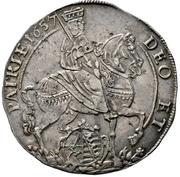 ½ Thaler - Johann Georg II. (Vicariat) – obverse