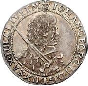 ⅛ Thaler - Johann Georg II. – obverse