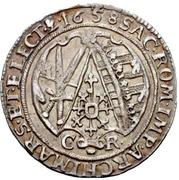⅛ Thaler - Johann Georg II. – reverse