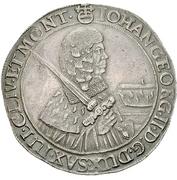 1 Thaler - Johann Georg II. – obverse