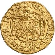 ½ Ducat - Johann Georg II. – reverse