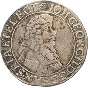 15 Kreuzer - Johann Georg II. – obverse