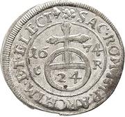 1/24 Thaler - Johann Georg II. – reverse