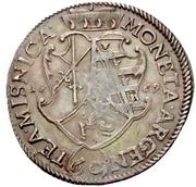 1 Gulden - Johann Georg II. – reverse