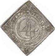 1 Thaler - Johann Georg II. (Klippe; Birth) – obverse
