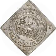 1 Thaler - Johann Georg II. (Klippe; Birth) – reverse