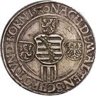 1 Guldengroschen - Georg – reverse