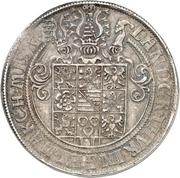 2 Thaler - Johann Friedrich II. – reverse