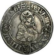 1 Thaler - Johann Friedrich and Moritz – reverse