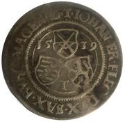 ¼ Guldengroschen - Johann Friedrich (Zwittertaler) – obverse