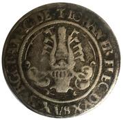 ¼ Guldengroschen - Johann Friedrich (Zwittertaler) – reverse