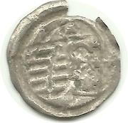 1 Pfennig - Friedrich III, Johann I, and Georg – reverse