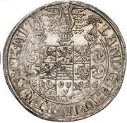 1 Thaler - Johann Friedrich II. – reverse