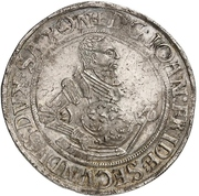 1 Thaler - Johann Friedrich II. – obverse