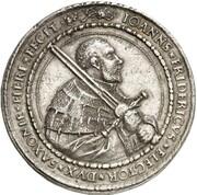 2 Thaler - Johann Friedrich der Großmütige – obverse