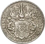 2 Thaler - Johann Friedrich der Großmütige – reverse