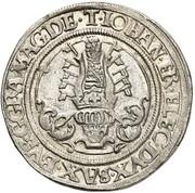 ¼ Guldengroschen - Johann Friedrich der Großmütige, Moritz et Johann Ernst – obverse