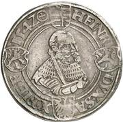 1 Thaler - Johann Friedrich der Großmütige & Heinrich – reverse