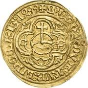 1 Goldgulden - Friedrich III, Johann I, and Albrecht – reverse