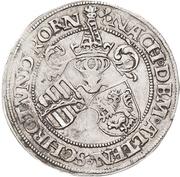 ½ Guldengroschen - Georg – reverse