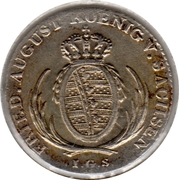 1/24 Thaler - Friedrich August I. – obverse