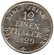 1/12 Thaler - Anton – reverse