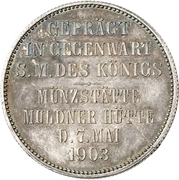2 Mark - Georg (Mint Visit) – reverse