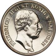 2 Mark - Friedrich August III – obverse