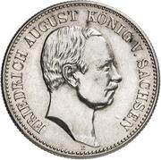 2 Mark - Friedrich August III (Mint Visit) – obverse