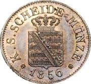 ½ Neugroschen / 5 Pfennige - Friedrich August II – obverse