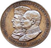 2 Mark - Friedrich August III (Leipzig University) – obverse