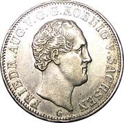 5 Neugroschen - Friedrich August II – obverse