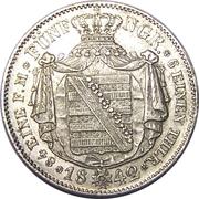5 Neugroschen - Friedrich August II – reverse