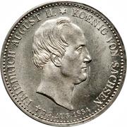 ⅓ Thaler - Friedrich August II (King's Death) – obverse