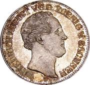 1 Thaler - Friedrich August II – obverse