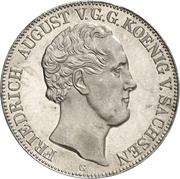 2 Thaler / 3½ Gulden - Friedrich August II (Freiberg University) – obverse