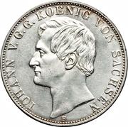2 Thaler / 3½ Gulden - Johann – obverse
