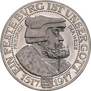 3 Mark -  Friedrich August III – obverse