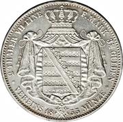 2 Thaler / 3½ Gulden - Johann – reverse