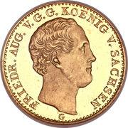 2½ Thaler - Friedrich August II – obverse