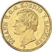 1 Krone - Johann – obverse